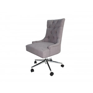 Ariana Office Chair Light Grey