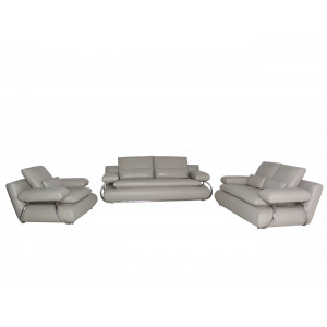Adelina  Lounge Suite Light Grey