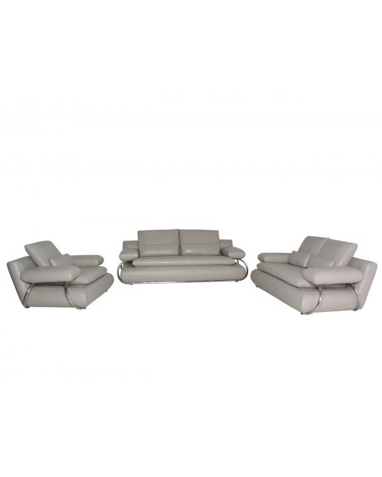 Adelina  Lounge Suite Light Grey