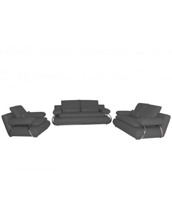 Adelina  Lounge Suite Dark Grey