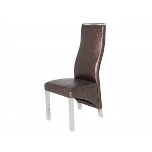 Chanel Dining Chair Brown