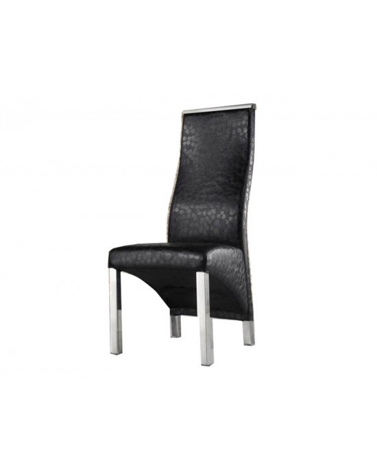 Chanel Dining Chair Black