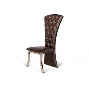 Diamond Dining Chair Brown
