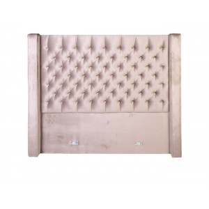 Diamond Button Headboard King Size