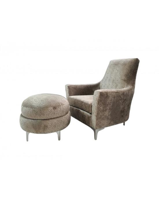 Georgio Chair + Ottoman