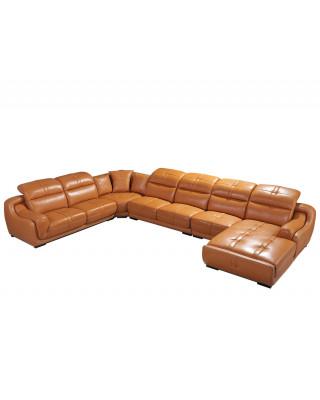 Piero Corner Lounge Suite Gold RHF