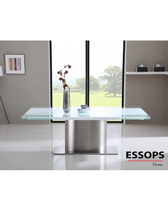 Zita White Extension Dining Table