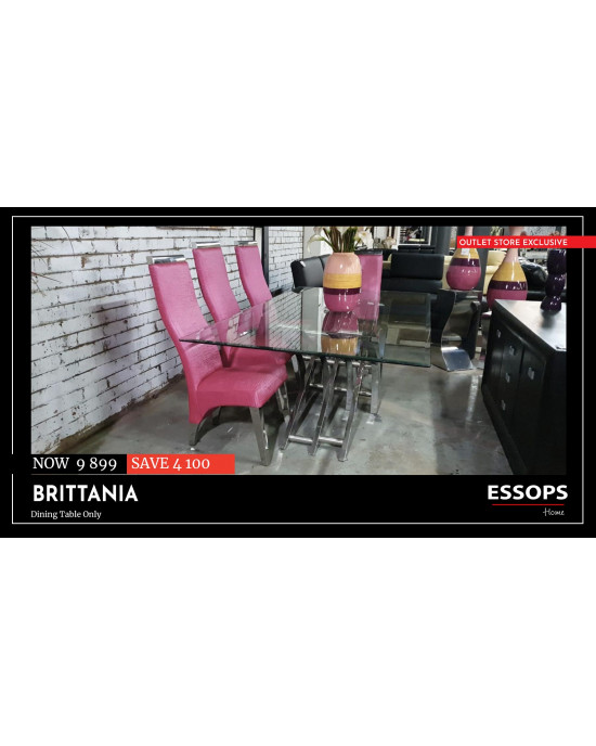 Brittania Dinning Table (Table Only)