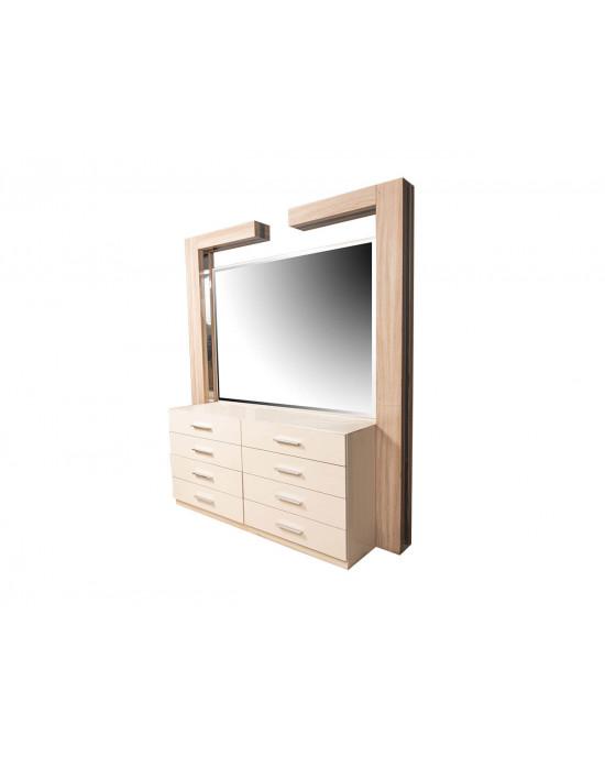 Rossi Bedroom Dresser and Mirror
