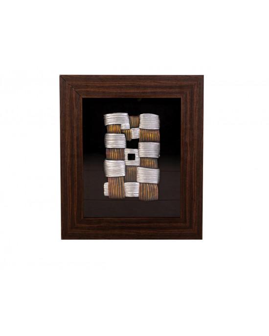 MY7363-0015/B Framed Object Art
