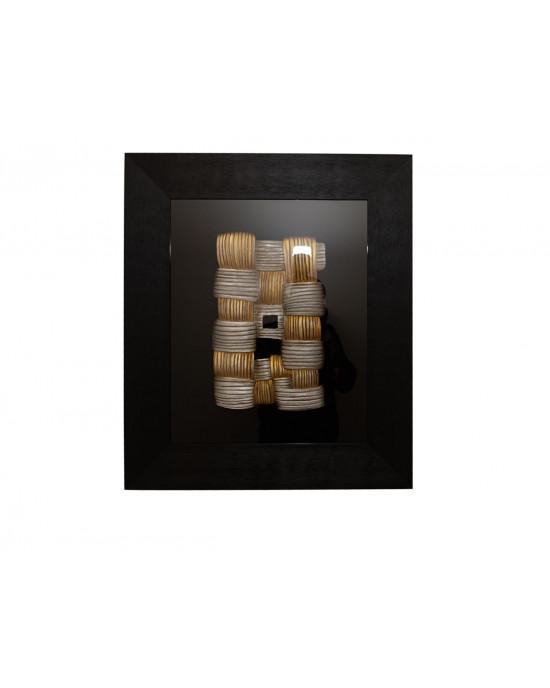 MY7363-0014/B Framed Object Art