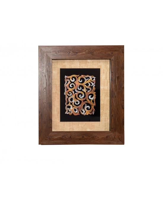 MY7363-0095/B Framed Object Art