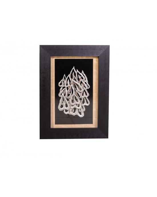 MY8563-0009/B Framed Object Art