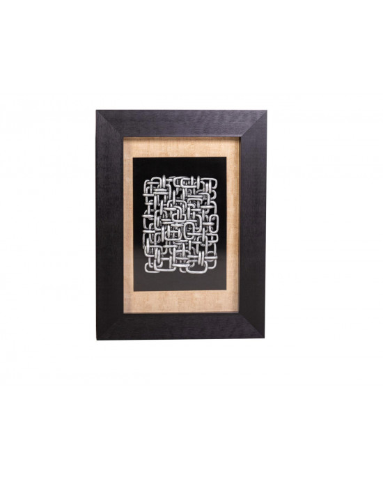 MY8563-0008/B Framed Object Art