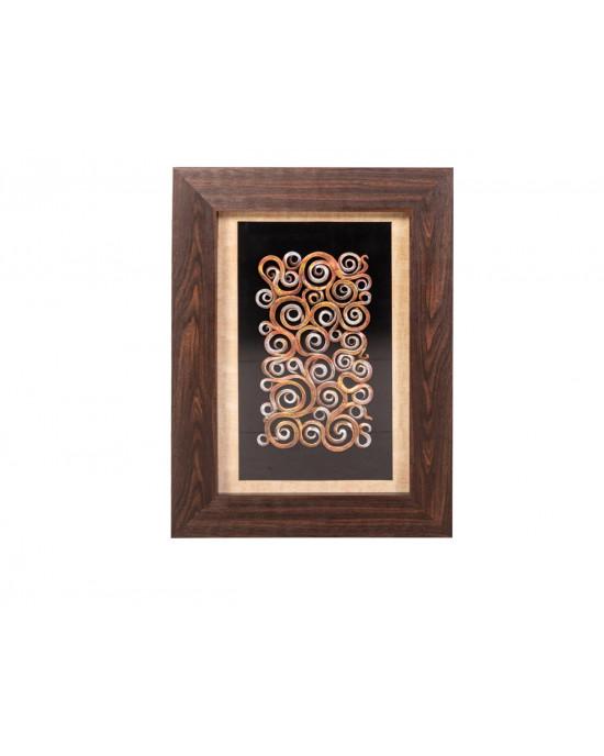 MY8563-0014/B Framed Object Art