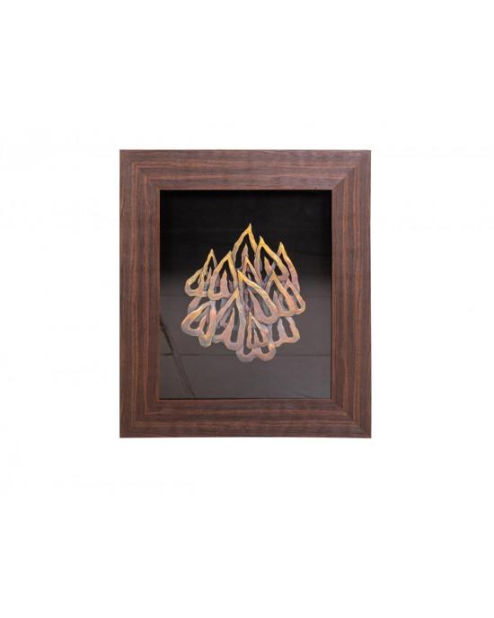 MY7363-0033/B Framed Object Art