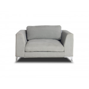 Columbia Cuddler Chair Nappa Elephant