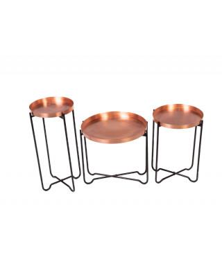 Tiya Set Of 3 Side Tables