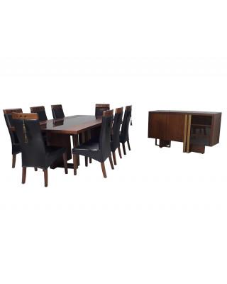 Armani 10 Pce Dining Suite