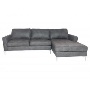 Aura Corner  Suite Dark Grey LHF