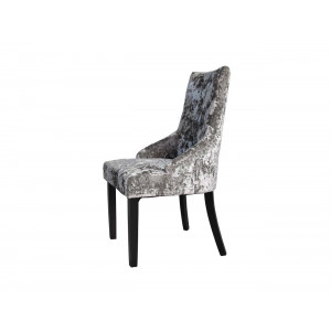 Auric Dining Chair Silver