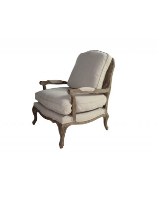 Novella Stone Wash Natural Arm chair
