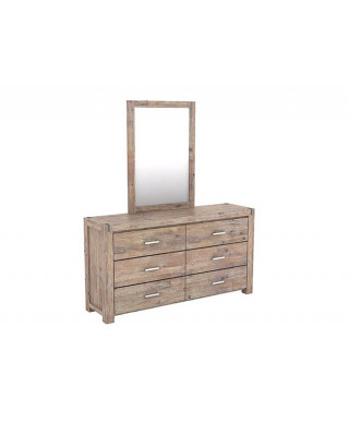Silver Strike Dresser + Free Mirror