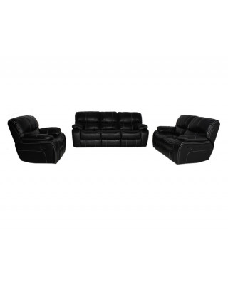 Nicole Lounge Suite Black