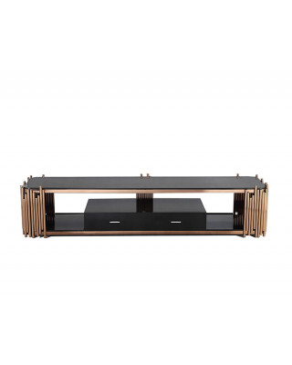 Coco TV Stand Rose Gold