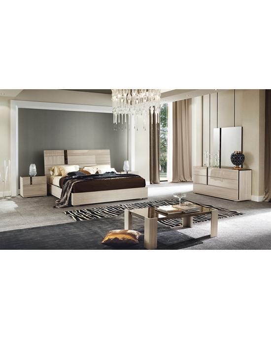Teodora Bedroom Suite+ Dresser and Mirror