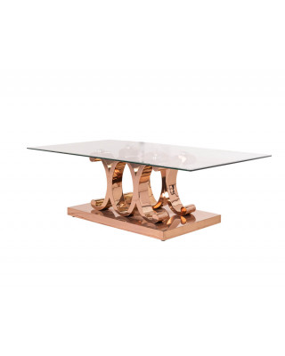 Cavali Coffee Table Rose Gold
