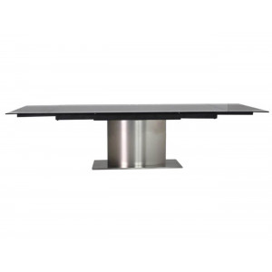 Zita Black Extension Dining Table