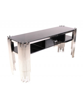 Coco Console With Draws Silver