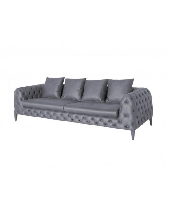 Vivaldi 2 Seater Grey