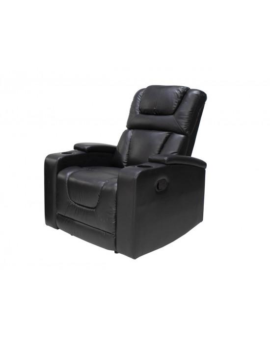 Misty 9336 Single Recliner Chair Black